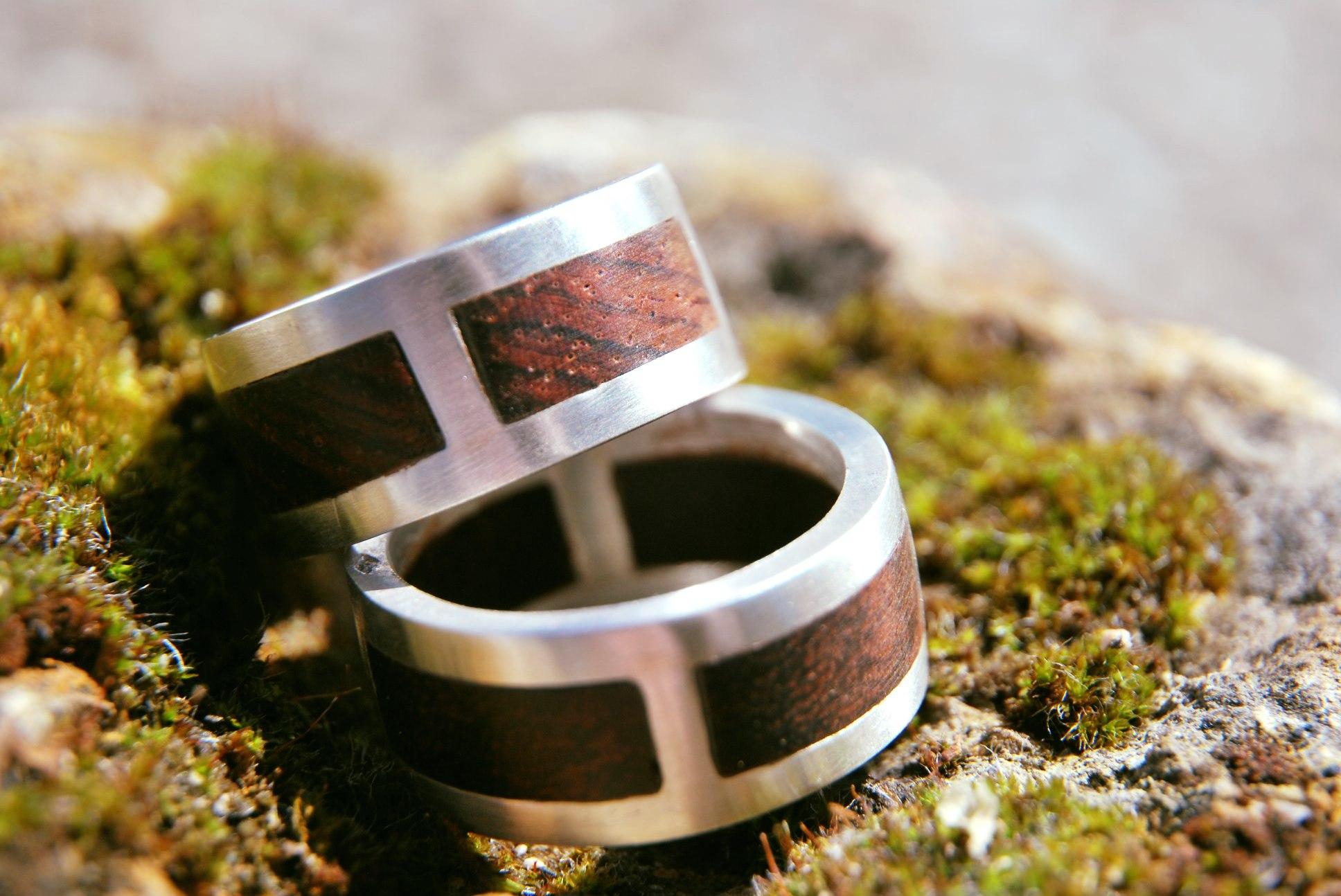 Alliance mariage - bois