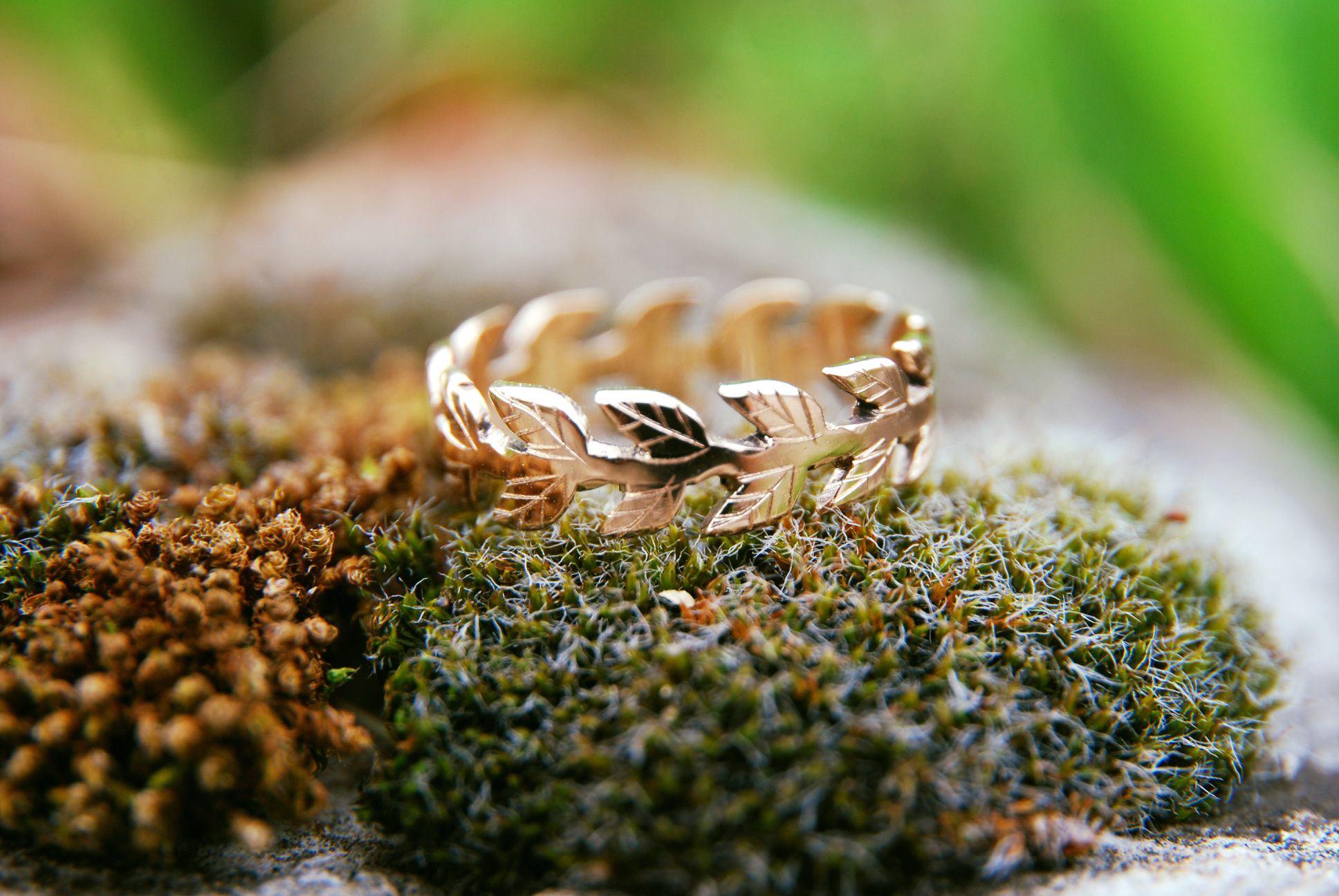 alliance mariage feuille de laurier